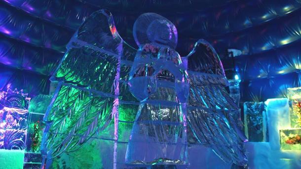 buz heykel
