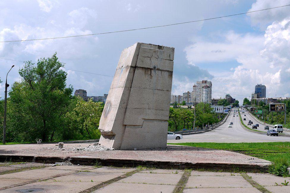 Bu anıtların yerine nelerin konacağı belli değil. (Fotoğraf: Yuriy Tatarenko)