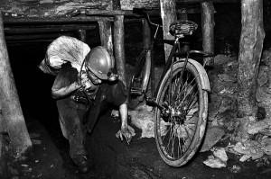 Ukraynalı madenciler